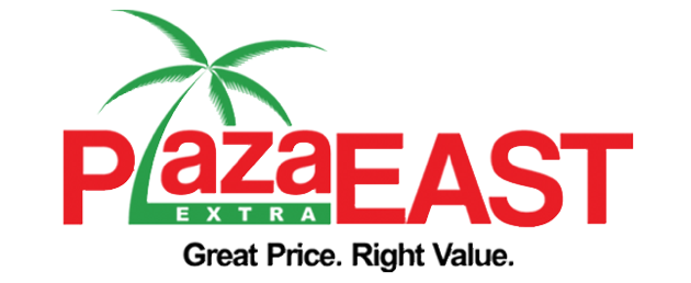 A theme logo of Plaza Extra East